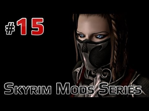 Skyrim Mods Series - #15 - Fiona. Sexy Glass. Black Sacrament Armor ...