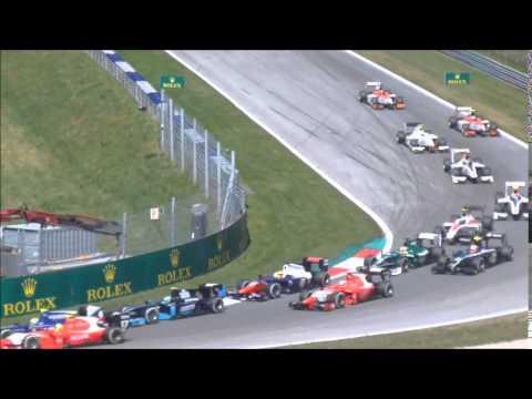 GP F1 Autriche 2014 - Course GP2 - Tribune North