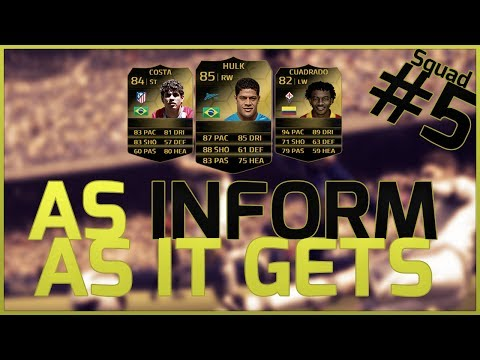 FIFA 14 Ultimate Team   As Inform As A Hybrid Getz! Full Inform Hybrid Squad Builder!