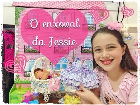 O Enxoval da minha Baby Alive Hora de Comer Jessie Julia Silva