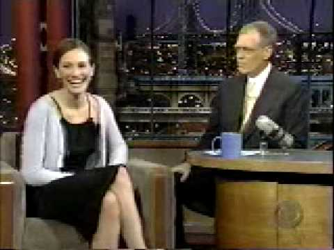 Julia Roberts on David Letterman 2000 part 1