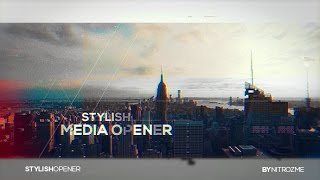 Media Opener - After Effects Template - Videohive
