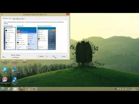 Como instalar menu iniciar no Windows 8