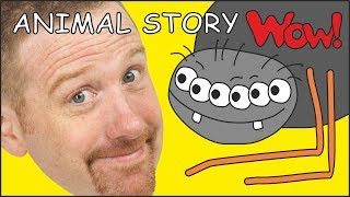 Animal Story for Kids from Steve and Maggie NEW | Learning magic English with Wow English TV