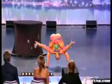 Crazy Frog Dance On Talent Show. Must See video