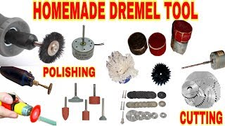 Homemade Dremel Tool Polishing, Cutting, Drilling DIY Project