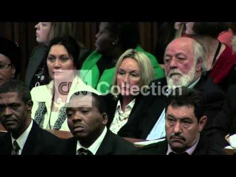 PISTORIUS TRIAL: PROSECUTOR - NO RESPONSIBILITY