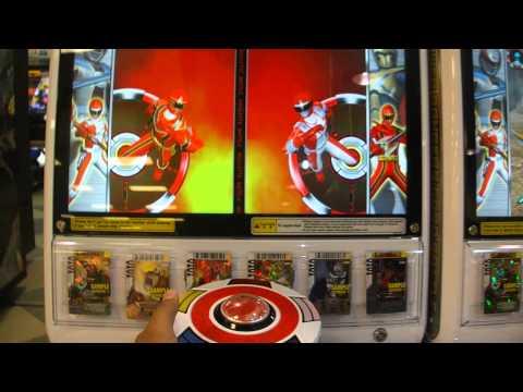 Playing Power Rangers Card Battle at Melaka
