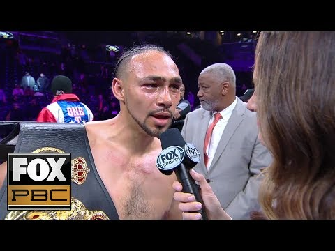 Keith Thurman calls out Manny Pacquiao after victory over Josesito Lopez | PBC ON FOX