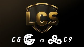 CG vs. C9 - Week 3 Day 2 | LCS Spring Split | Clutch Gaming vs. Cloud9 (2019)