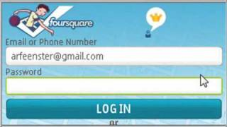 how to install foursquare app on Nokia E63 - by Arfeen