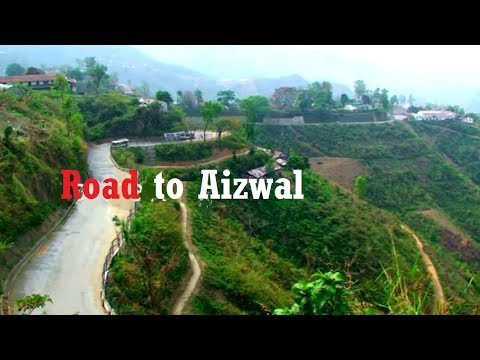 Drive to Hill Peak of Aizawl, Mizoram