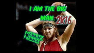 2k16 Best Center | Big Man | Center | 2k16 Pro-Am | How to play as a big man