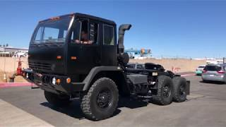 2004 Stewart & Stevenson M1088 6x6 Tractor For Sale
