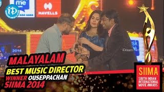 SIIMA 2014 Awards - Best Music Director Malayalam Ouseppachan for Nadan Movie