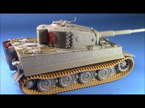 HOW TO PAINT AND WEATHER WWII GERMAN ARMOUR Part 1