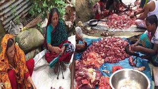 A Spacial Day 4 Cow Jabai and Some Beef deliveary Poor People | Our Tv | Roral Program |