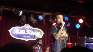 Bilal- Think it Over- LIVE @ BB KINGS NYC 9/18/10