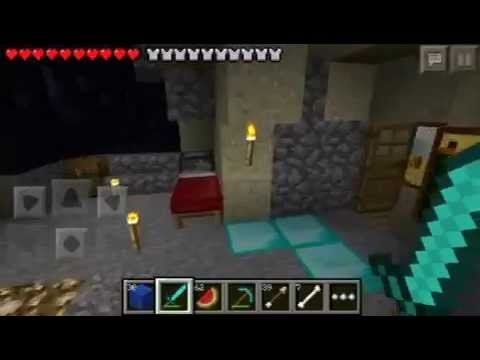 Watch How to Break Bedrock in Minecraft Pocket Edition Survival Without Jailbreak