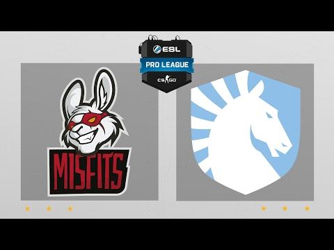 CS:GO - Misfits vs. Team Liquid [Cache] Map 2 - ESL Pro League Season 5 - NA Matchday 3