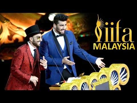 Ranveer Singh And Arjun Kapoor Make FUN Of Aamir Khan At IIFA Awards 2015 | AIB
