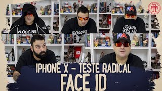 IPHONE X + FACE ID TESTE RADICAL