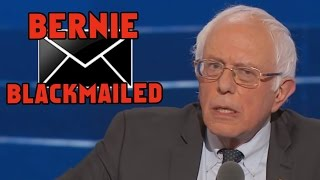 Hillary Clinton Blackmailed Bernie Sanders - Wikileaks E-Mails Reveal
