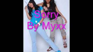 Watch Myxx Sorry video