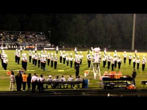 Manchester High School Band Half Time Show 20111