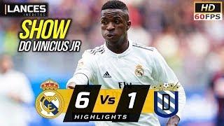 Real Madrid vs UD Melilla 6-1 Highlights All Goals 2018