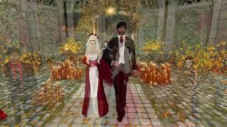 Ventura & Szabia Second Life Wedding - 10.27.16