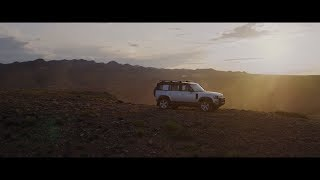 New Land Rover DEFENDER – The Drive to Go Beyond