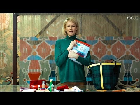 Что в сумке у Оксаны Левчени?