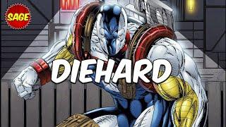 Who is Image Comics DieHard? When Cyborg meets Captain America.