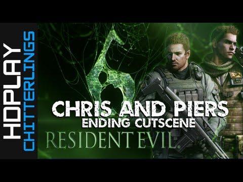 Resident Evil 6 - Chris Ending Cutscene