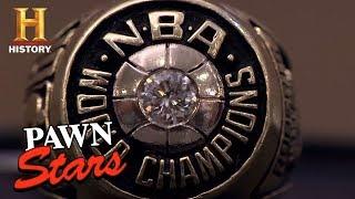 Pawn Stars: 1975 Golden State Warriors Ring (Season 8) | History