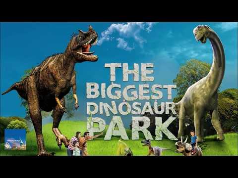 DUBAI GARDEN GLOW ICE PARK : Dubai Landmarks, Arctic Animals and Exotic Structures : Dinosaur Park