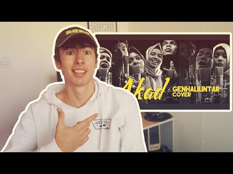 Download Lagu Akad - Payung Teduh (Gen Halilintar Cover) - REACTION! MP3 Free