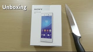 Sony Xperia M4 Aqua - Unboxing & First Look!