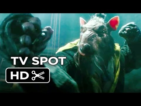 Teenage Mutant Ninja Turtles TV SPOT - Risk (2014) - Whoopi Goldberg, Will Arnett Movie HD