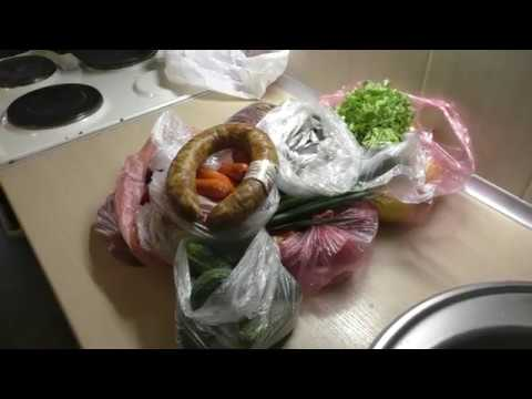 Покупка продуктов//Цены на колбасу и овощи//Цены на продукты в Украине
