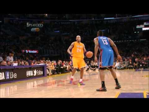 [HD] Kobe Bryant 38 Points vs Oklahoma Cirty Thunder [R2G4] - Highlights 20/05/2012