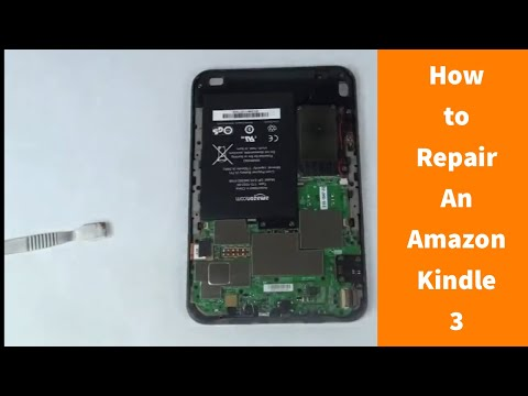 How to Repair an Amazon Kindle 3