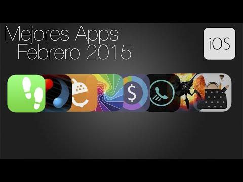 Las mejores aplicaciones para iPhone y iPad (Febrero 2015)