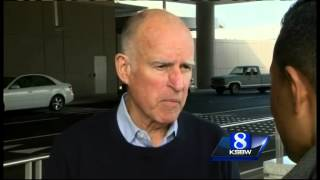Governor Brown urges Californians to conserve water