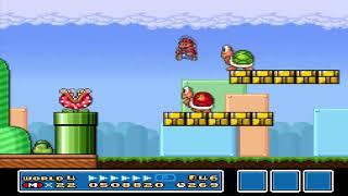 Super Mario All-Stars - Super Mario Bros 3 World 4
