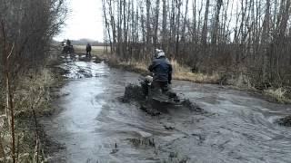arctic cat 700 mud pro vs can am renegade 800