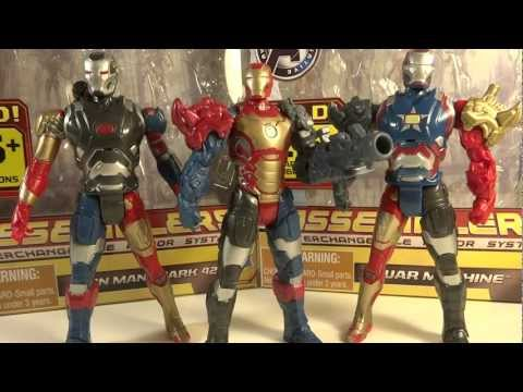 Iron Man 3 Assemblers 3 3/4inch Iron Man Mark 42 Toy Review