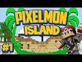 Pixelmon Island Special Mini-Series! Episode 1 - Welcome to Pixelmon Island!