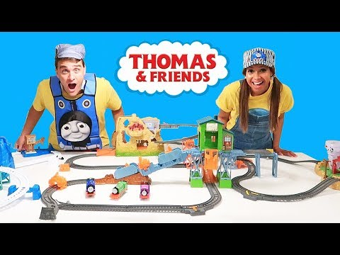 Thomas & Friends MegaTrack Toy Challenge! || Toy Review || Konas2002